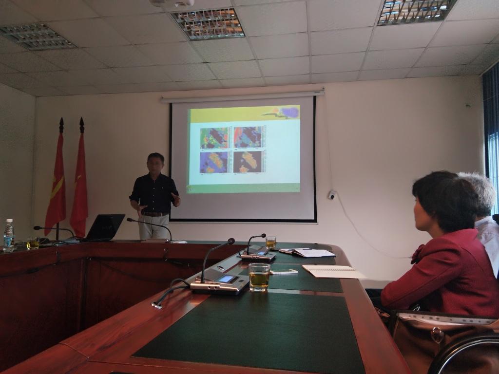 """Hội thảo với chuyên gia Đài Loan về """" Quá trình phong hóa"""